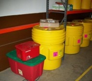 Containers for hazardous stuff