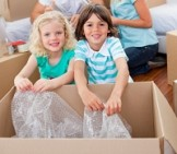 Children can help with packing